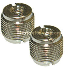 "2 Pk Adapter 1/4"" 20 Female to standard microphone 5/8"" 27 Male Thread 5794-2"