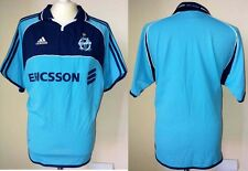 MAILLOT OLYMPIQUE MARSEILLE 2000 2001 ADIDAS VINTAGE OM FOOTBALL LIGUE 1 SHIRT