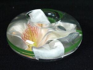 EMILIO ROBBA PARIS White Orchid T-Light Votive Candle Holder