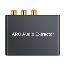 HDMI ARC Audio Extractor Digital to Analog Coaxail optical 5.1 Converter Adapter