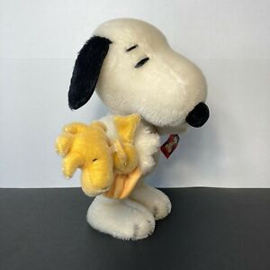 Steiff Snoopy Woodstock Limited Edition 1012 /1500 Made Germany Jointed 2009