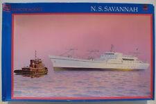 GLENCOE MODELS 08302 - N. S. SAVANNAH - 1:350 - Schiff Modellbausatz Ship KIT