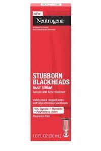 Neutrogena Stubborn Blackheads Daily Serum-1oz