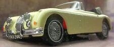 JAGUAR 150 XK CREAM CONVERTIBLE DINKY Cream On Red 1960 DROPHEAD JAGUAR XK-150