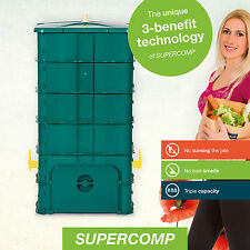 SUPERCOMP - Composter – Garden Compost Bin - No turning of the pile anymore - wi
