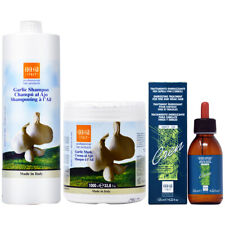 Ever Ego Garlic Shampoo + Mask 33.8oz + Cren Drop Lotion 4.22oz w/Free Nail File