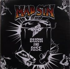 "CD MAD SIN ""Burn and Rise"" Psychobilly Deutch Punk-Rock'n Roll 2010 Koefte"