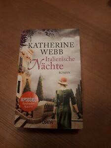 """Roman """"Italienische Nächte"""" Hobby Lesen Spannung Liebe"""