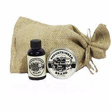 Mountaineer Brand Magic Beard Balm & Beard Oil Combo: Original and WV Timber