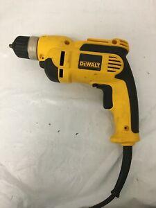 DEWALT DWD110 8 Amp Corded 3/8 in. Pistol Grip Drill Model VG