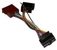 Câble adaptateur faisceau fiche ISO autoradio pour Clarion CZ201E CZ201EG CZ201E