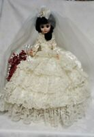 """VINTAGE BRIDE DOLL by BOUTIQUE DOLL CO 18"""" Tall"""