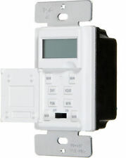 V40092  DIGITAL WALL TIMER WHITE 15A, 1/2hp 120V, 16 ON/OFF SETING TIME SWITCH