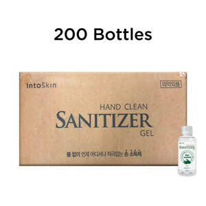 IntoSkin - Hand Clean Gel 60ml for 200 Bottles