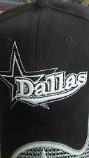 DALLAS COWBOYS HAT BLACK NFL ONE SIZE FITS ALL.