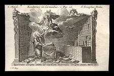 santino incisione 1700 S.GIUSEPPE INNOGRAFO.  klauber