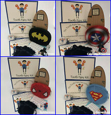 Tooth Fairy For Boys ~ Superhero Figure Gift, Fairies Visit Certificate