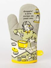Droppin' A Recipe On Your Blue Q Oven Mitt  Humorous Funny Quirky Christmas Gift