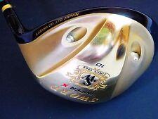Emerald Gold KATANA Sword Sniper X 10deg SR-FLEX DRIVER 1W Golf Club