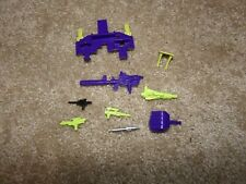 DEVASTATOR PARTS AND WEAPONS LOT #2 ORIGINAL VINTAGE G1 TRANSFORMER