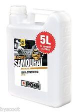 Huile IPONE SAMOURAI Bidon 4L + 1l gratuit  5L 2T 100% synthèse 2 Temps