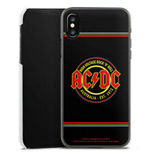 Apple iPhone X Handyhülle Case Hülle - ACDC High Voltage