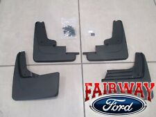19 thru 20 Edge OEM Genuine Ford Molded Splash Guards Mud Flaps Set of 4 w/o ST