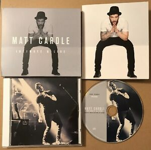 Matt Cardle - Intimate & Live Limited Edition Numbered Cd Album + Postcards Rare