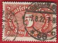 DEUTSCHES REICH  (992) MI NR 194 b GESTEMPELT ( NEU GEPRÜFT) INFLA Weinbach