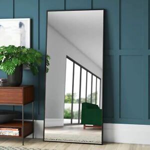 "65"" Large Full Length Floor Mirror Free Standing Hanging Living Bedroom Makeup"