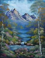 ORIGINAL OIL PAINTING - Wild Glow by SP Soni