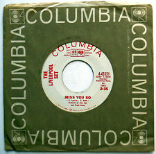 LIVERPOOL SET 45 Miss You So / Must I Tell You PROMO Garage COLUMBIA 1965 w2256