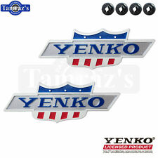 "68-69 Camaro Nova "" YENKO "" Emblem DieCast Metal YOLP LICENSED Product QTY 2"