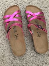 NWOT Birkenstock Betula Metallic Pink Flip Flop Strappy Sandal Shoes Us 10 Eu 41
