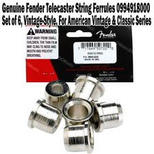 Genuine Fender Vintage Style Telecaster String Ferrules American 0994918000 New