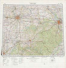 Russian Soviet Military Topographic Maps  - KANSAS CITY (USA), 1:1Mio, ed. 1983