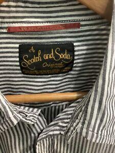 Scotch and Soda Mens Shirt XL