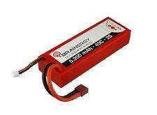 YUKI 801006 modello Brainergy LiPo 2S1P 7.4V 5200mAh 45C komp.m.deans