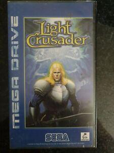 SEGA Megadrive - Light Crusader Tested & Working