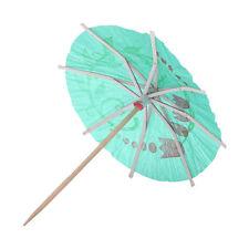 2X(72er Pack Cocktail-Schirmchen Hawaii Sonnenschirm Regenschirm ET)