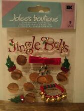 EK SUCCESS JOLEE'S BOUTIQUE Jingle Bells Autocollants Entièrement neuf sous emballage