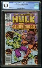 HULK VS QUASIMODO #1 (1983) CGC 9.8 CANADIAN PRICE VARIANT CPV WHITE PAGES