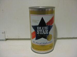 Vintage Steel Empty Blue Star (Gold Medal Award ) Beer Can.