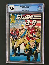 Blackthorne 3-D Series #71 CGC 9.6 (1989) - G.I. Joe in 3-D #6 - 1 of 1 CGC!