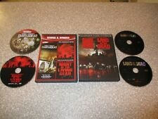 4 Horror Movies on Dvd Dawn, Diary, Land of the Dead & Night of the Living Dead