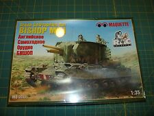 Maquette 1/35 Bishop Mk. I British Self Propelled Gun Kit No. MQ-3551