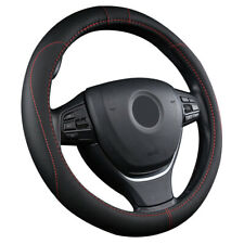 Universal Microfiber Leather Auto Car Steering Wheel Cover Anti-slip Grip 38cm