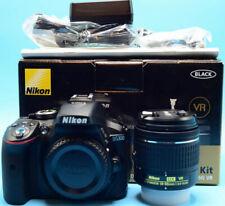 Nikon D D5300 24.2MP Digital SLR Camera - Black Kit w/ AF-S DX 18-55mm VR Lens