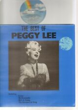 Peggy Lee - The Best Of - 1981 England - MCA - MCL 1632 - Vinyl LP