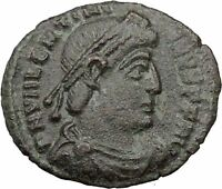 VALENTINIAN I 364AD  Ancient Roman Coin ANGEL VICTORY Nike  i32444
